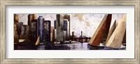 Framed Arriving at Manhattan