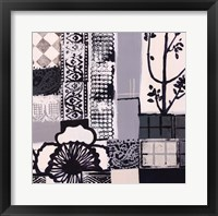 Nature's Patterns II Framed Print