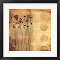 Playful Meadow I Framed Print