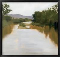 Framed River Journey