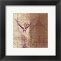 Shaken Framed Print