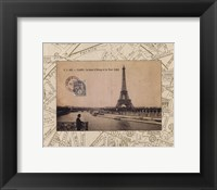 Framed Destination Paris II