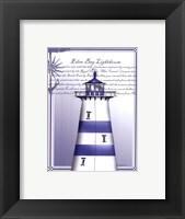 Framed Eden Bay Lighthouse