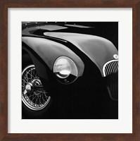 Framed Jaguar C-Type