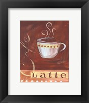 Coffee Cafe I Framed Print