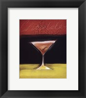 Framed Chocolate Martini