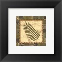 Tropical Leaf I - special Framed Print