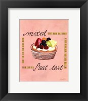 Framed Mixed Fruit Tart