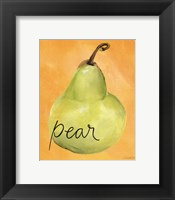 Framed Pear