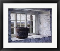 Framed Springhouse Window