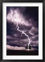 Framed Lightning Striking Tree II