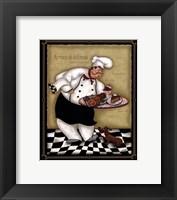 Framed Serving Chef