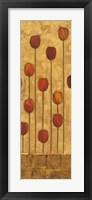 Framed Tulip Panel