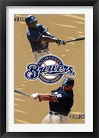 Framed Brewers - Collage
