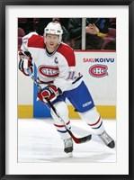 Framed Canadiens - Koivu
