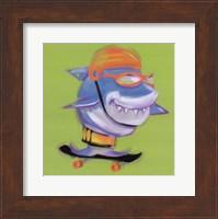 Framed Shark Attack