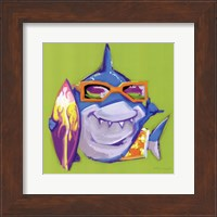 Framed Look Out Shark