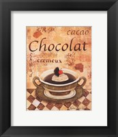 Framed Cacao Chocolat