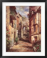 Framed Tuscan Village