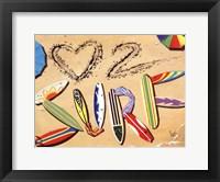 Framed Love 2 Surf