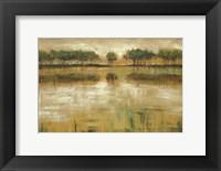 Framed Tiverton Lake