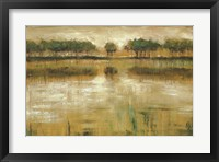 Tiverton Lake Framed Print