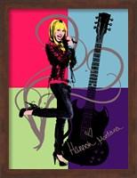 Framed Hannah Montana: Let it Rock