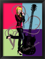 Framed Hannah Montana: Let it Rock