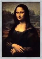 Framed Mona Lisa
