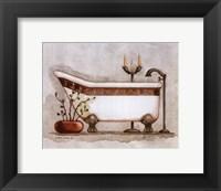 Athena II Classic Bath Framed Print