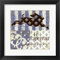 Framed Le Lapereau