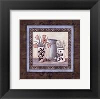 Framed Garden Scroll II