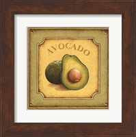 Framed Avocado - mini