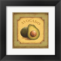 Framed Avocado - mini