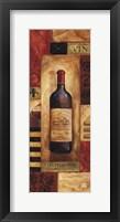 Chateau Vin Panel - mini Framed Print
