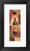 Chateau Vin Panel - petite Framed Print