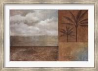Framed Golden Paradise II