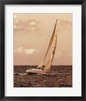 Weekend Sail I Framed Print