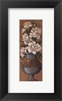 Courtly Roses III - petite Framed Print