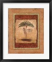 Framed Palm Botanical Study II - mini