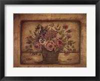 Framed Paris Bouquet II