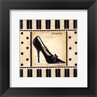 Shopping I - mini Framed Print