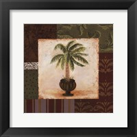 Framed Potted Palm I
