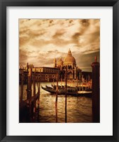 Venezia Sunset II Framed Print