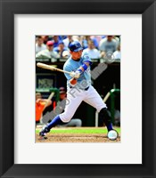Framed Billy Butler 2008 Batting Action