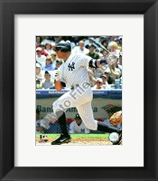 Framed Alex Rodriguez 2008 Batting Action