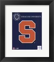 Framed 2008 Syracuse Team Logo