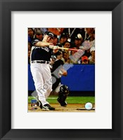 Framed Justin Morneau 2008 MLB Home Run Derby Action
