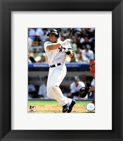 Framed Ivan Rodriguez 2008 Batting Action