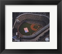 Framed Aerial view of Yankee Stadium - 2008 MLB All-Star Game